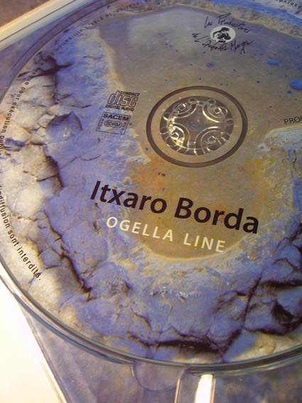 digipack 3 volets Itxaro Borda CD